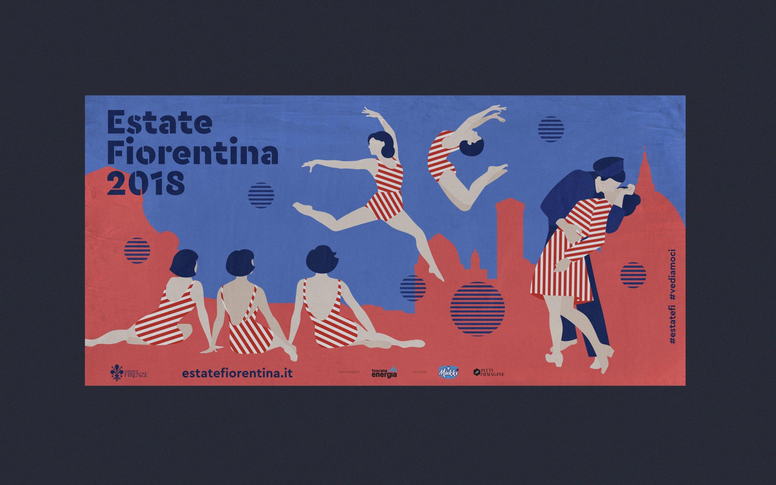Visuals for Estate Fiorentina<br />Print, digital material and advertising
